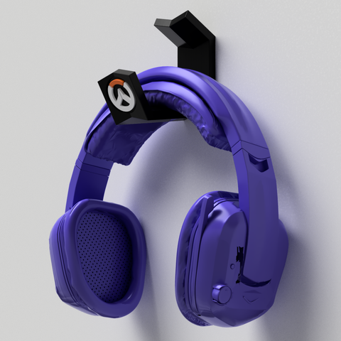 suporte_overwatch_parede_2018-Aug-20_12-49-54AM-000_CustomizedView22958427393_png.png Download STL file Suport Headset Overwatch • 3D printer design, Geandro_Valcorte