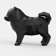 lulu_v1_2018-Aug-30_01-39-31AM-000_CustomizedView18341620775_png.png Download STL file Spitz Low Poly • 3D printable design, Geandro_Valcorte