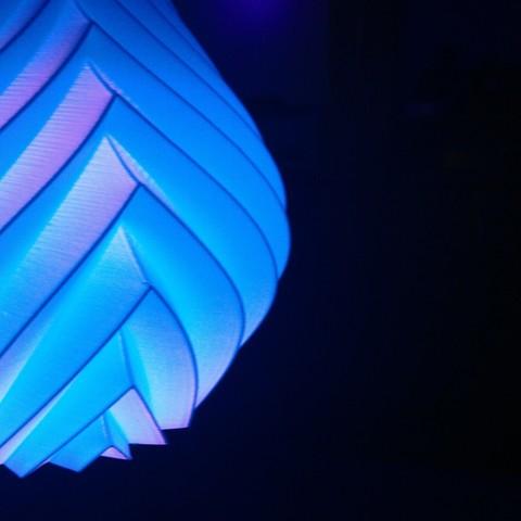 3D printer models Pendant lamp Inka, Ocean21