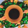 Download 3D printing templates Sunflower Vase, Ocean21