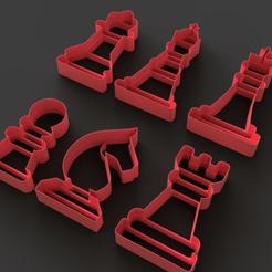 3D print model Cutter Chess, Ocean21