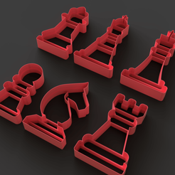 Download STL files Cutter Chess, Ocean21