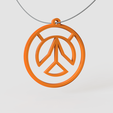 Download free 3D printing designs Overwatch Pendant, Ocean21