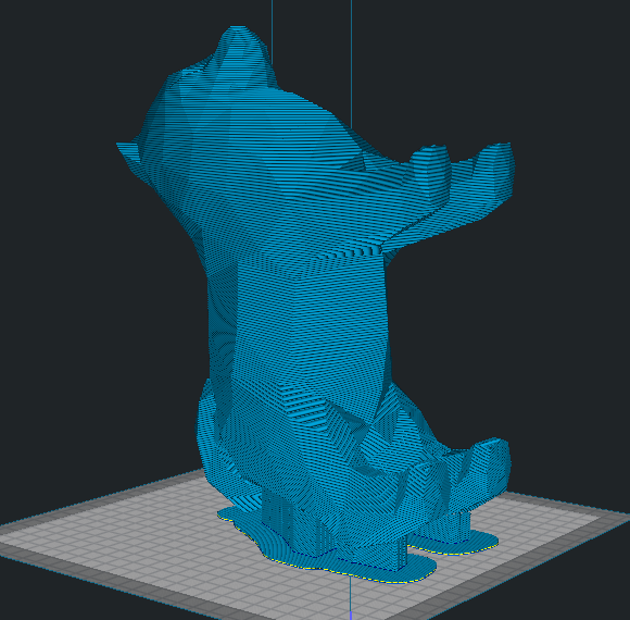 Sem título.png Download STL file Spitz Low Poly • 3D printable design, Geandro_Valcorte
