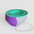 Download STL files Vase mold 2, Ocean21
