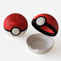Télécharger fichier 3D Pokeball, Ocean21