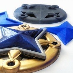 3 genshin impact masterless starglitter.jpg Download STL file Masterless Starglitter Genshin Impact • 3D print template, Ocean21