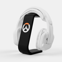 Télécharger plan imprimante 3D Support Casque Overwatch 2, Ocean21
