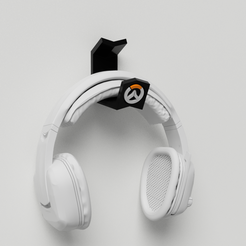Download 3D model Suport Headset Overwatch, Ocean21