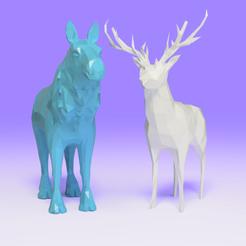 Archivos STL ciervos y alces, Ocean21
