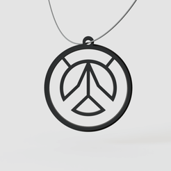 Download free 3D printing designs Overwatch Pendant, Ocean21