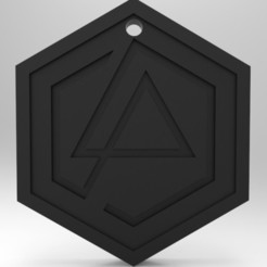 3D print files keychan Linkin park, andsnf