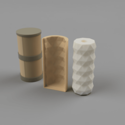 Geometric_2020-Jan-27_08-22-54PM-000_CustomizedView20200756964.png Download STL file Geometric Sleeve • 3D printer template, DragonMom