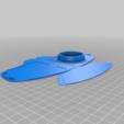Télécharger fichier STL gratuit MASK - Masque pour aérographe REMIX du NanoHack COVID 19, billyzkiss