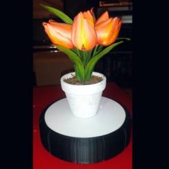 Télécharger objet 3D gratuit Plateau tournant motorisé / Motorized turntable, billyzkiss