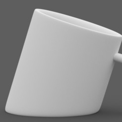 Download free 3D model Sliced Cup, Abhimanyud3dx