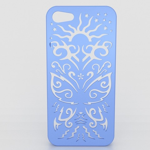 butterfly-Iphone-case-5.jpg Download STL file Butterfly Iphone Case 4 4s • Object to 3D print, Custom3DPrinting