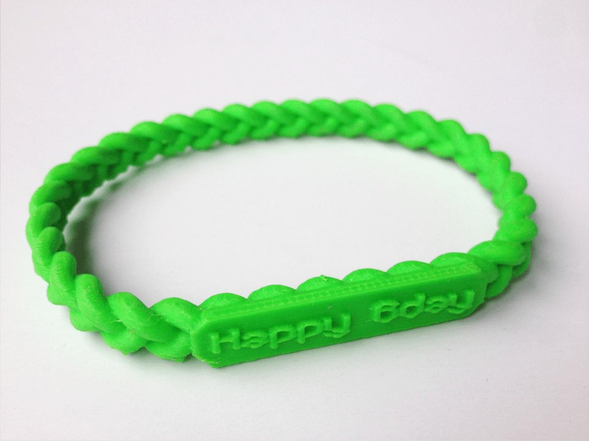 CUSTOM bracelet twist.png Download STL file Jewelry Pack - Bracelet Wristband Pendant Military Dog Tag Heart • 3D printer model, Custom3DPrinting