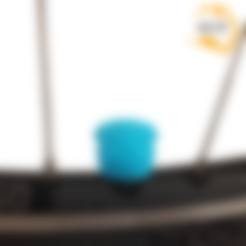 Télécharger plan imprimante 3D Pug Dog Car Truck Truck Bike Van Tire Van Tire Wheel Wheel Valve Stem Caps Caps Covers, Custom3DPrinting