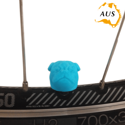 3D printer models Pug Dog Car Truck Bike Van Tire Tyre Wheel Valve Stem Caps Cover, Custom3DPrinting