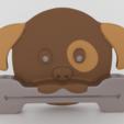 STL Puppy Paste Pusher, Custom3DPrinting