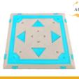 STL files Fortnite Bounce Pad Drink Coaster Ps4 Xbox Pc, Custom3DPrinting