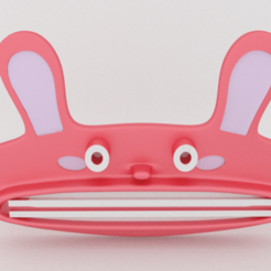 Fichier 3D gratuit Bunny Paste Pusher, Custom3DPrinting
