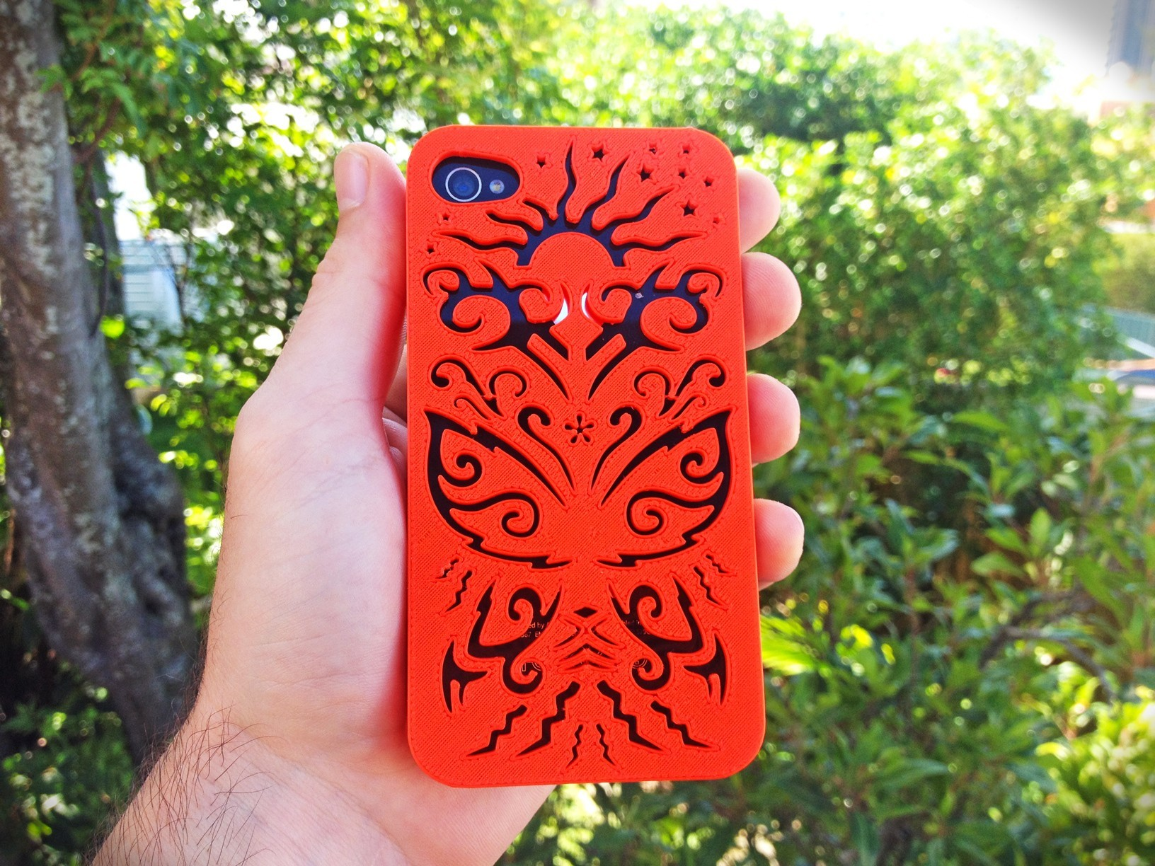 butterfly-Iphone-case-4-4s.jpg Download STL file Butterfly Iphone Case 4 4s • Object to 3D print, Custom3DPrinting