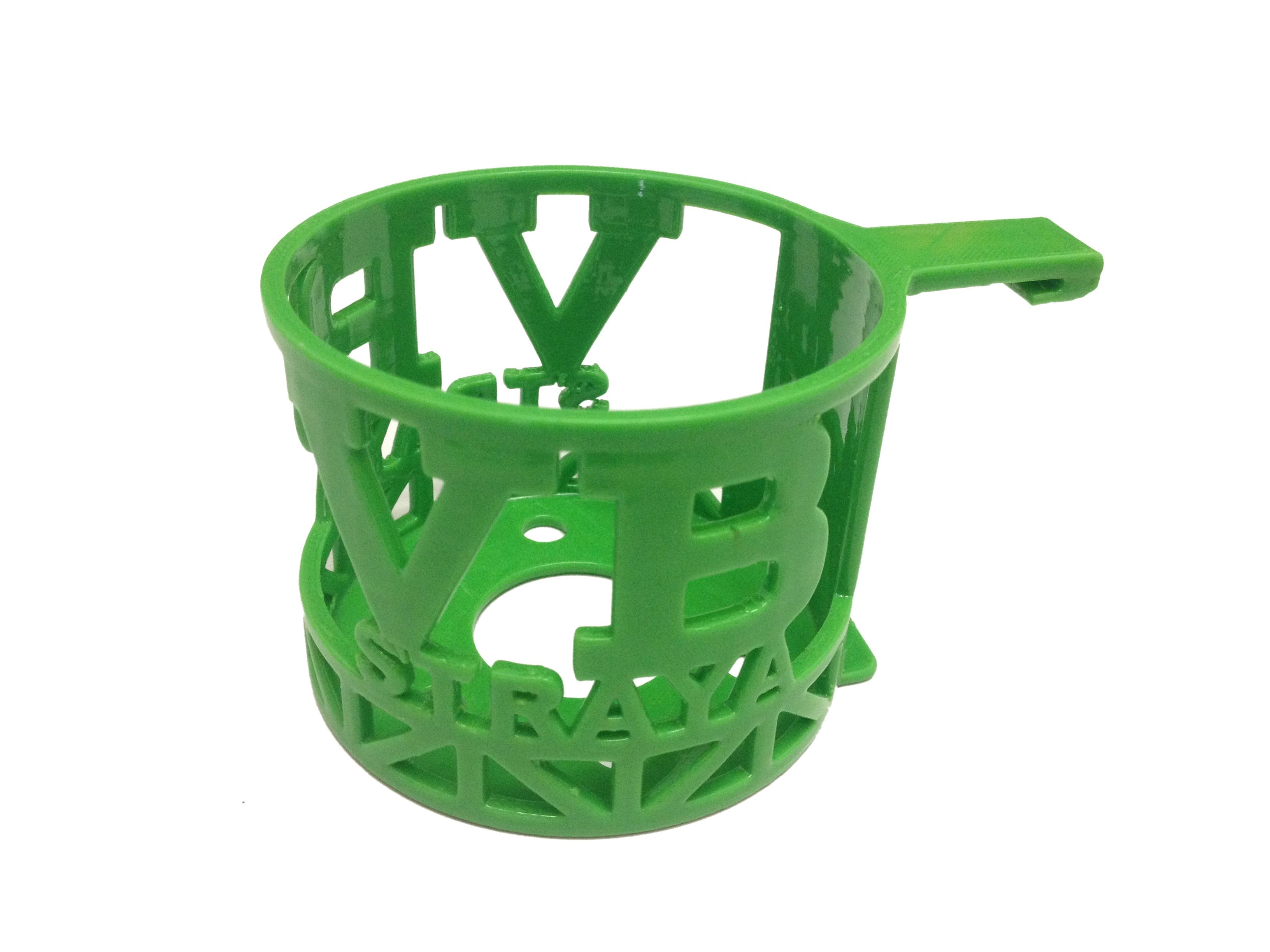 VB CAR FRONT.JPG Download STL file Aussie Car Cup Holder • Template to 3D print, Custom3DPrinting