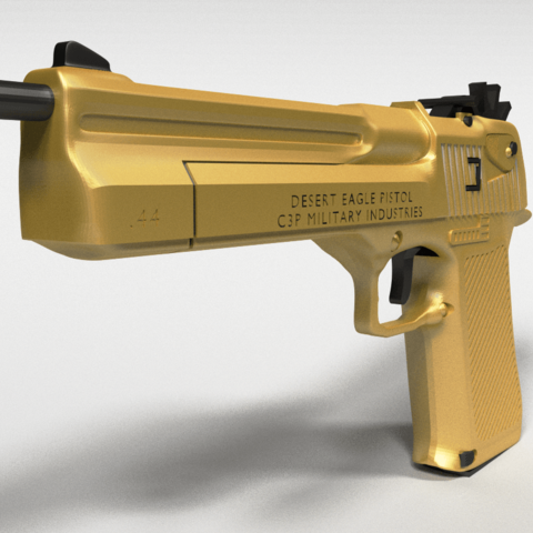 deagle2.png Download STL file Desert Eagle Rubber Band Gun • 3D printing model, Custom3DPrinting