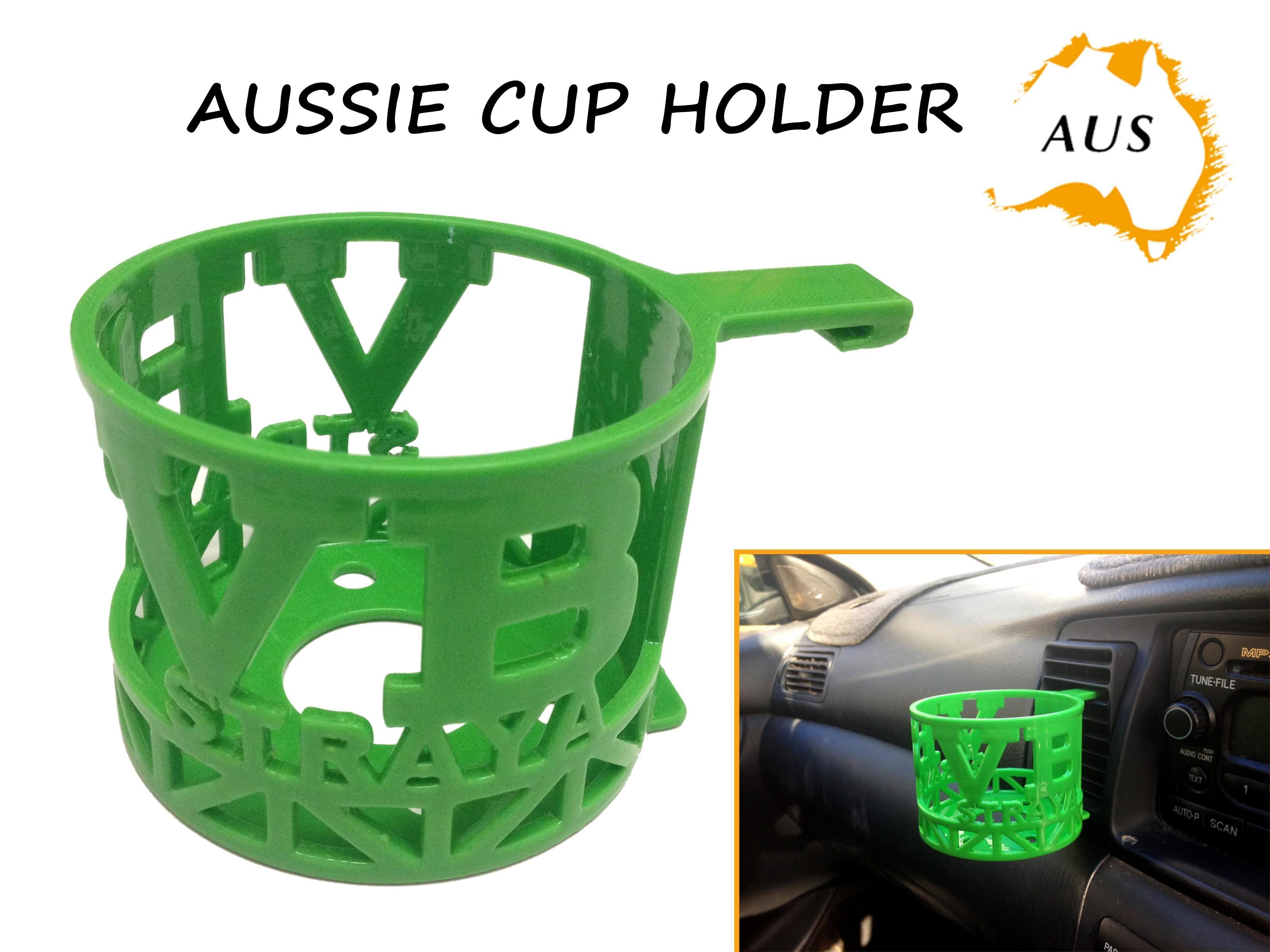 VB CAR ebay.JPG Download STL file Aussie Car Cup Holder • Template to 3D print, Custom3DPrinting