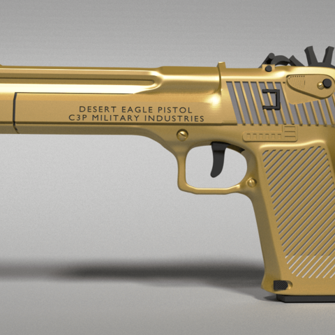 deagle.png Download STL file Desert Eagle Rubber Band Gun • 3D printing model, Custom3DPrinting