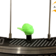 3D printer files Yoda Bicycle Tyre Caps Bike Car Van Truck Valve Wheel Star Wars, Custom3DPrinting