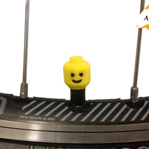 Télécharger modèle 3D Lego Head Car Truck Truck Bike Van Tire Van Tire Wheel Valve Stem Caps Stem Caps Covers, Custom3DPrinting