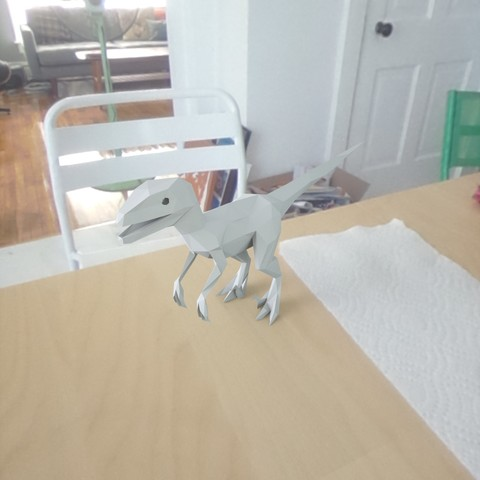 Free low poly Dinosaur STL file, renderstefano