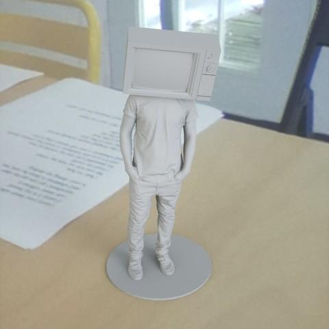 11.jpg Download free STL file humantv • 3D printer template, renderstefano