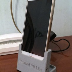 Download free 3D printer files Huawei P8 Lite 2017 Dock Phone, Alcom76