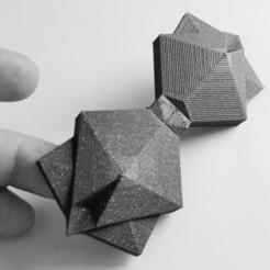 Impresiones 3D gratis PAJARITA CUBISTA, cisardom