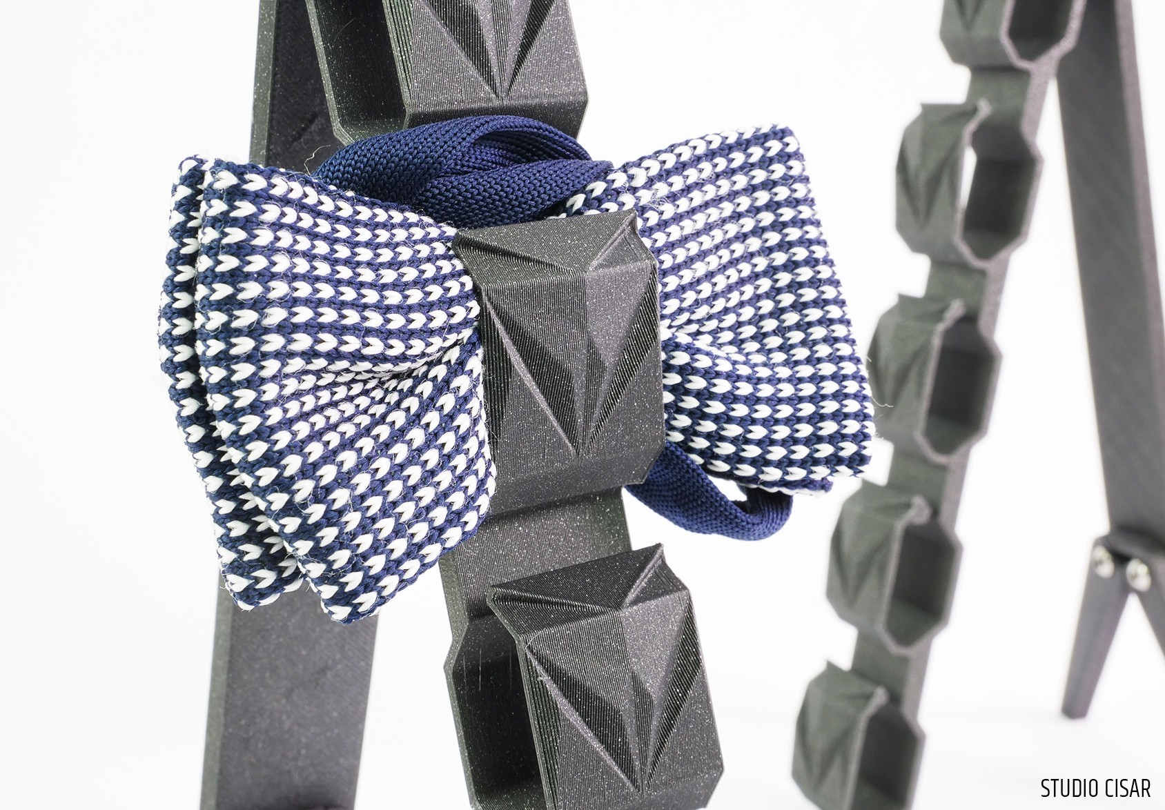 005_BowtieHanger A_02.jpg Download STL file CUBISTIC BOW TIE HOLDER • 3D printable object, cisardom
