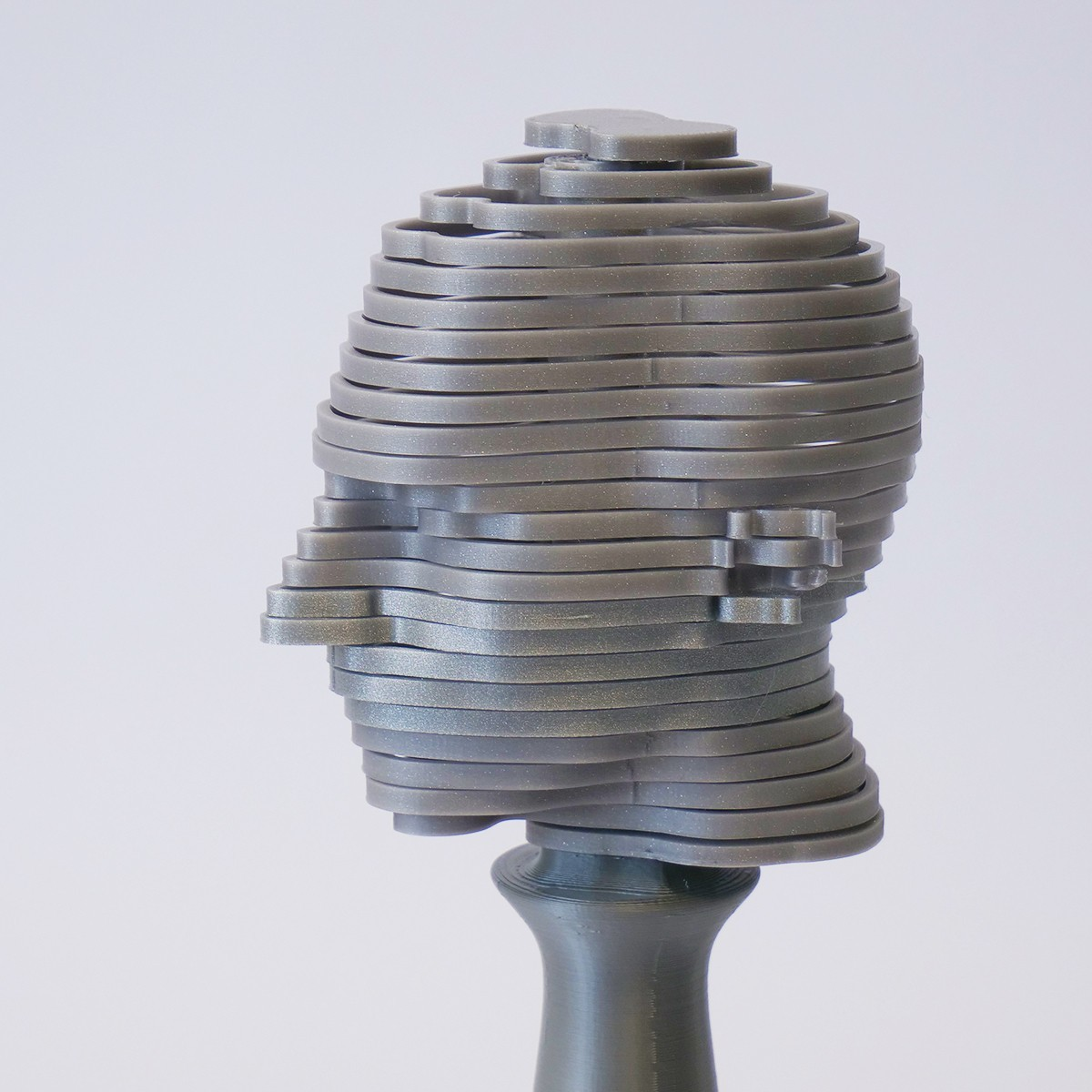Helicone Head_Dominik Cisar_002.jpg Download STL file Helicone Head - Toy - Turning bust • Model to 3D print, cisardom