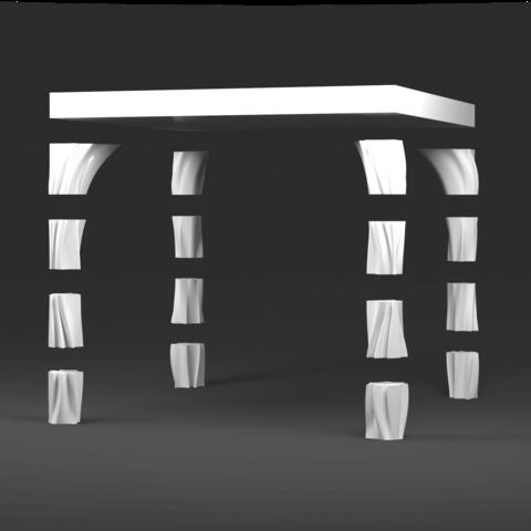 NRBS_IKEA_Dominik Cisar_001.png Download free STL file Ikea LACK table LEG hack_NRBS • 3D printer object, cisardom