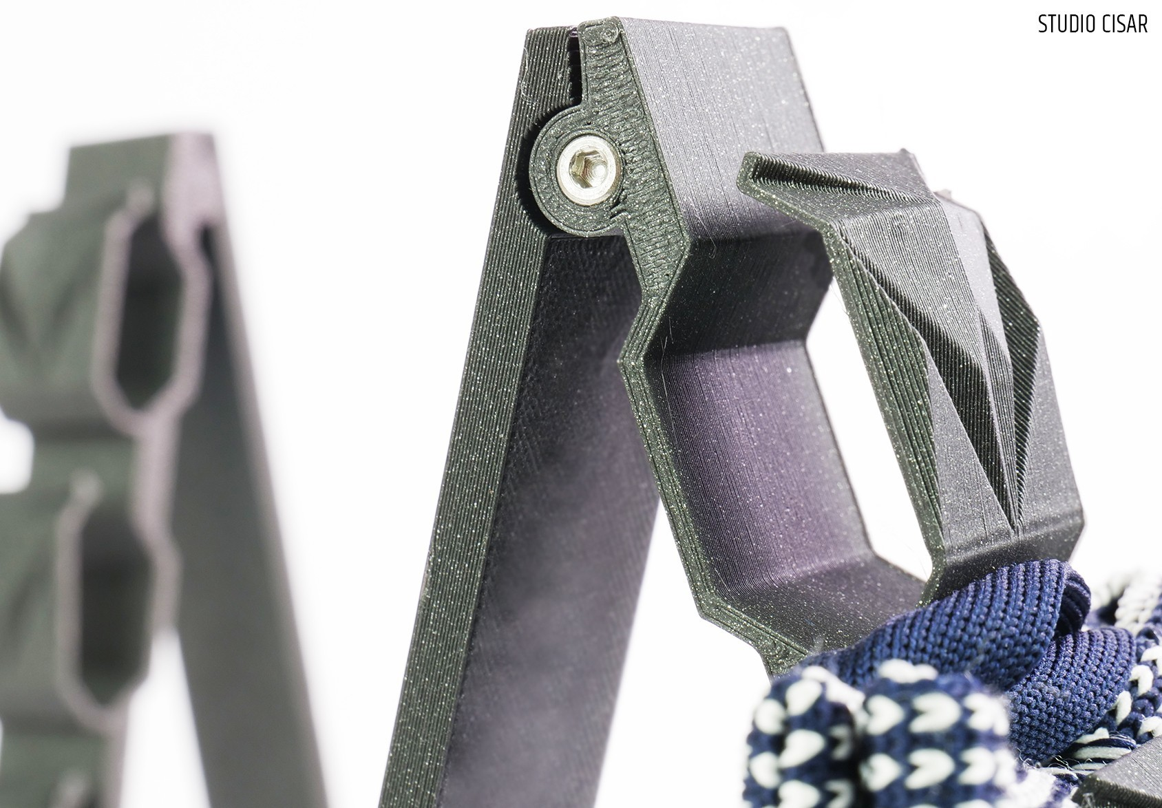 005_BowtieHanger A_03.jpg Download STL file CUBISTIC BOW TIE HOLDER • 3D printable object, cisardom