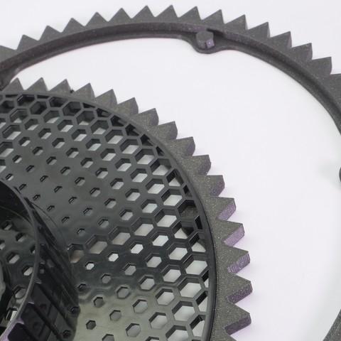 P1133130.JPG Download free STL file SPIROGRAPH - PRUSAMENT SPOOL - reuse idea • 3D print model, cisardom