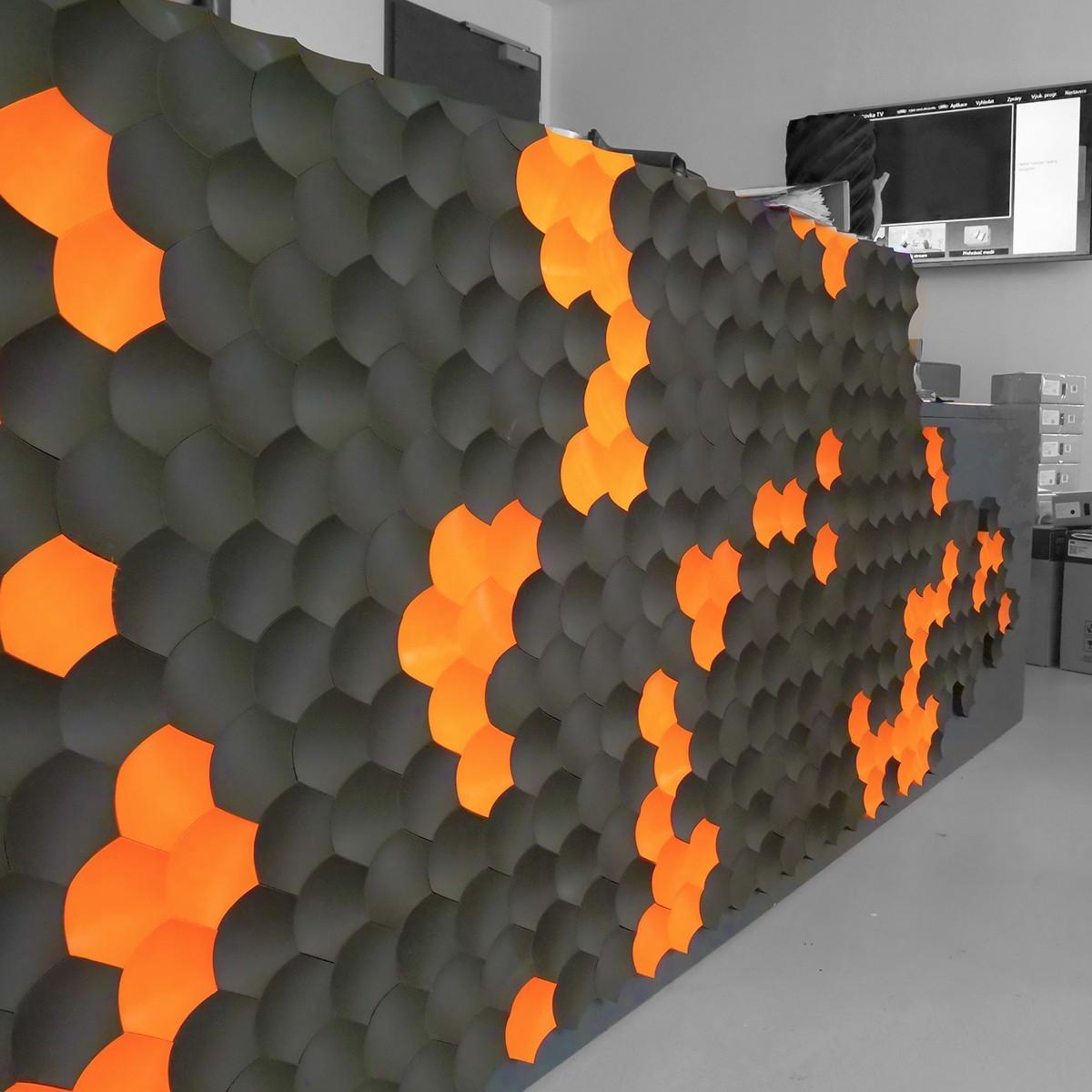 Reception_PrusaLab_Dominik Císar_001.jpg Download free STL file Prusa Reception Tiles - PrusaLab • 3D print model, cisardom