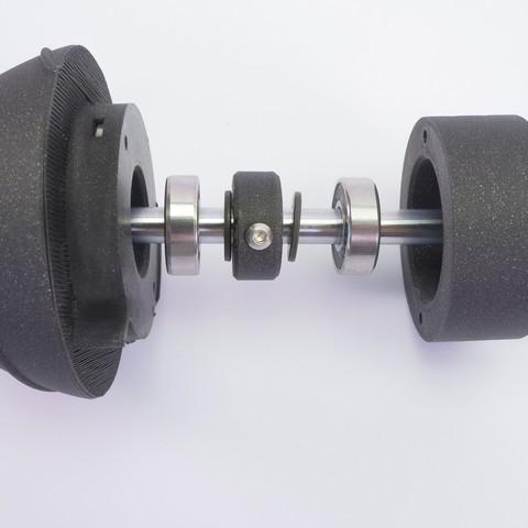 P1133617.JPG Download free STL file WINDMILL - PRUSAMENT SPOOL - reuse idea • 3D printer model, cisardom