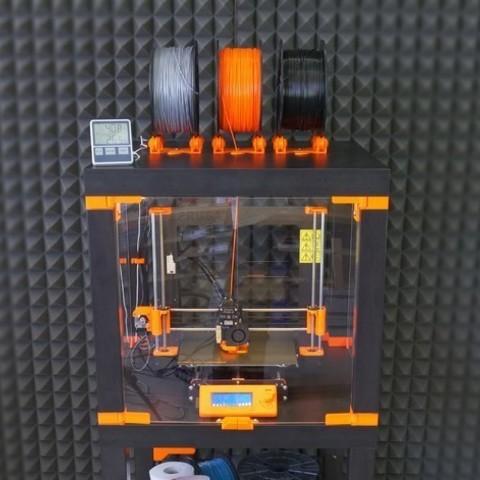bd4d2f4ca2182c57e4b3dc83e958c9aa_preview_featured.jpg Download free STL file Original Prusa i3 MK3 ENCLOSURE -Ikea Lack table - Prusa Research • Template to 3D print, cisardom