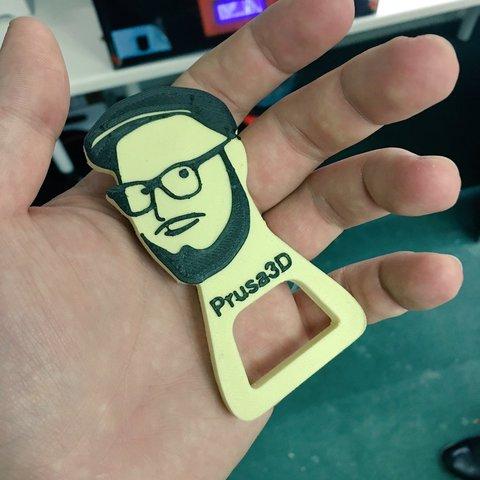 CvTN6E0WEAA7uWl.jpg Download free STL file Josef Prusa Beer Opener • 3D printer model, cisardom