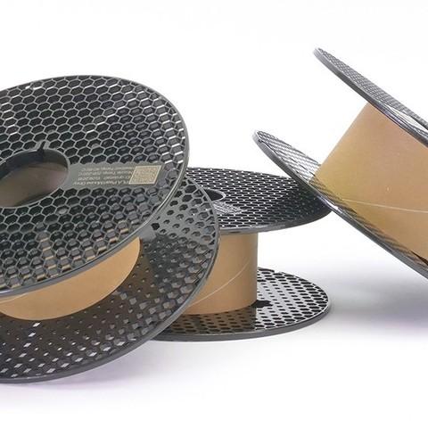 Free 3D printer designs Prusament Spool - simplified 3D model, cisardom