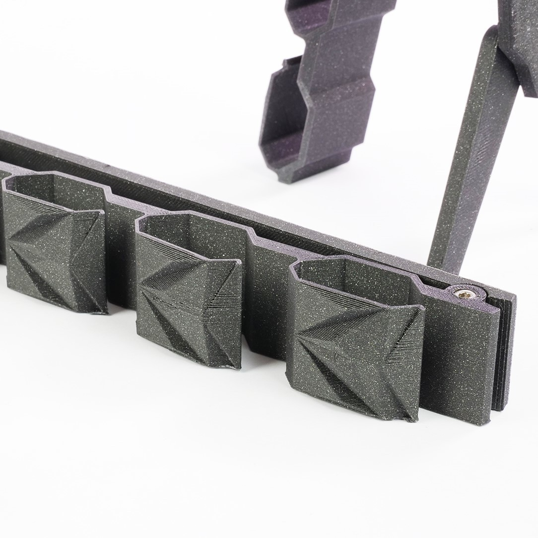 005_BowtieHanger A_09.jpg Download STL file CUBISTIC BOW TIE HOLDER • 3D printable object, cisardom
