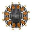 Télécharger fichier impression 3D gratuit SPIROGRAPH - PRUSAMENT SPOOL - idée de réutilisation, cisardom